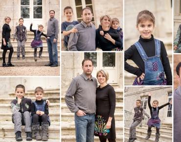 Photographie de Famille en extérieur - Composition photographique